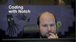 Coding with Notch Minecraft Blog