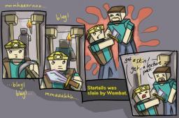 Funny Comic Minecraft Blog