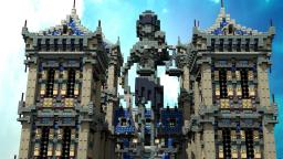 The Hall of Justice Minecraft Map & Project