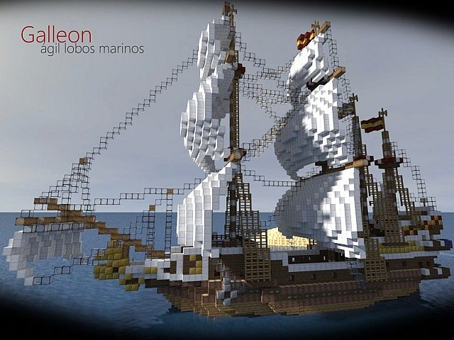 how to build a galleon ship