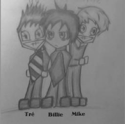 Green Day Fan Art Drawing Minecraft Blog