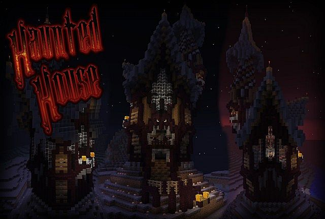 Haunted House (Happy Halloween) Minecraft Project