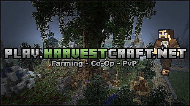 HarvestCraft FarmLands Spawn