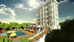 Little Contemporary Hotel Minecraft