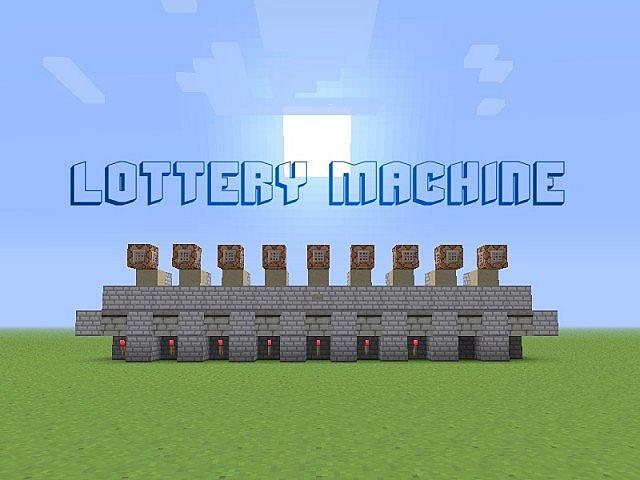 minecraft lottery ticket redstone