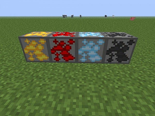 The ores that are done