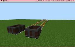 LAN Server Minecart Racing! Minecraft Map & Project