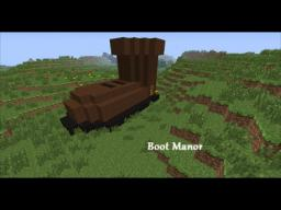 Boot Manor Minecraft Map & Project