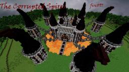The Corrupted Spires: Nether Fortress Minecraft Map & Project