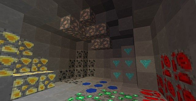 The brand new ores and stone