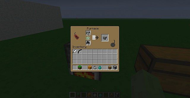 The new Furnace GUI with greek fire xD