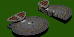USS Astoria (Nebula Class Starship) Minecraft Map & Project