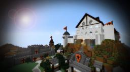 Fallen Kingdom Inspired Castle Minecraft Project