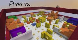 Adventure Arena - Fully Automatic Arena (Command Blocks) Minecraft Map & Project