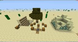 Desert Survival v 1.2.7 Minecraft Map & Project