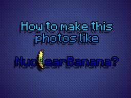 [TUTORIAL] How to make these photos like me | In 20 steps Minecraft Blog