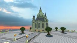 The Dresden Frauenkirche Minecraft Project