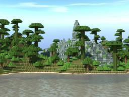 Borobudur Overgrown Minecraft Map & Project