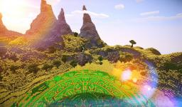 Land of the unknown (First crop circle!) (World download!) Minecraft