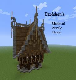 Medieval Nordic Ornate House Minecraft Map & Project