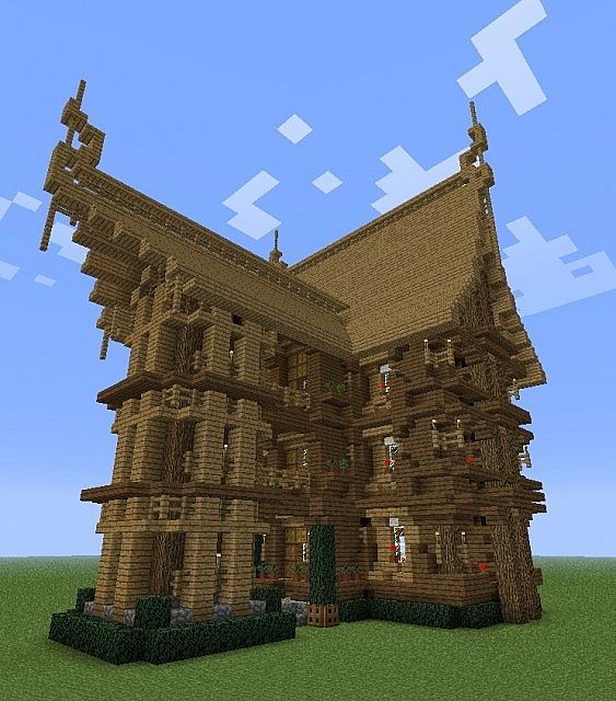 Medieval Nordic Style Inn and Pub Minecraft Project
