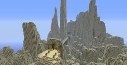 Loustin Sand Mountains Custom Terrain (dwarf's mountains) Minecraft Map & Project