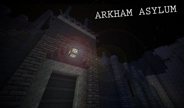 BATMAN: PROJECT ARKHAM - Constructing the Asylum Minecraft Project