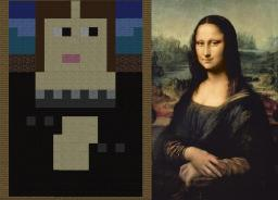 Art in minecraft style Minecraft Map & Project