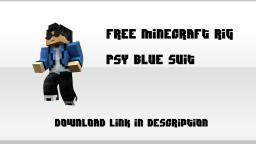 Free Cinema 4D PSY Rig Minecraft Project