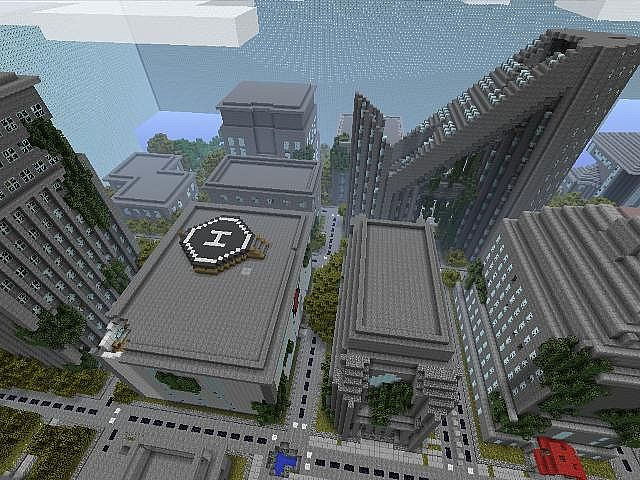MINECRAFT XBOX 360 RUINED CITY HUNGER GAMES Minecraft Project