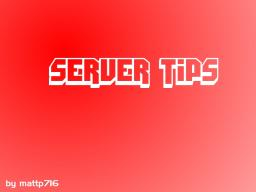 Server Tips Minecraft Blog Post