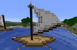 Small Fishing Boat Minecraft Map & Project