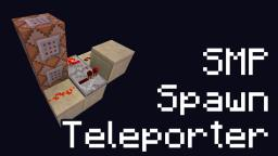Ultra-Compact SMP Spawn Teleporter using Command Blocks Minecraft Project