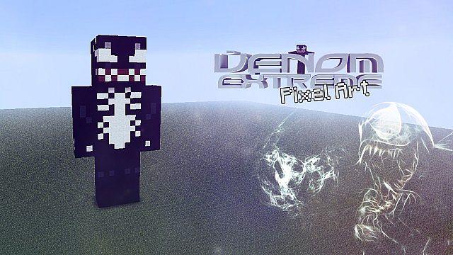 Venom_Extreme Pixel Art Minecraft Map