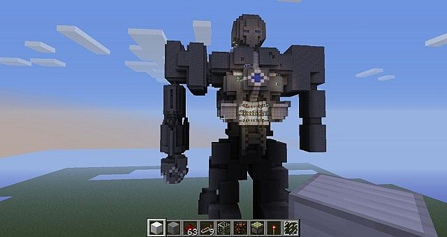 Giant Robot Thing Minecraft