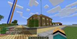 A Cool House With InDoor's Swimming Pool Minecraft Map & Project