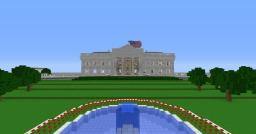 White House Grounds (1,000,000+ blocks) Minecraft Project