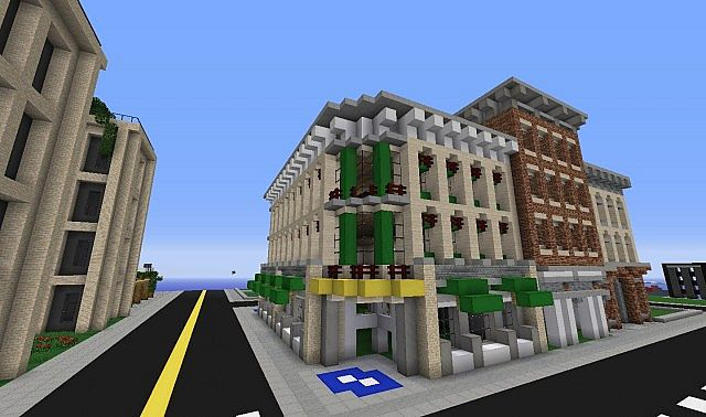 Lego Grand Emporium And Pre War Buidlings Minecraft Project