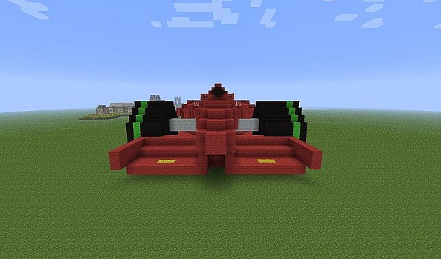 how to create a car in minecraft