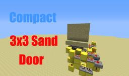 Compact Fast 3x3 Sand Door Minecraft Map & Project