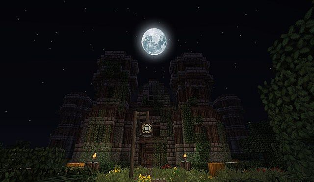 The Abandoned Mansion Minecraft Project