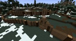 Project- Pictish style hill fort Minecraft