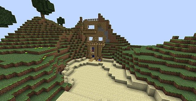 Epic Piston Command Block House  Minecraft Project