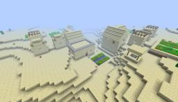 MC 1.4.2 - Seed - Sand & Normal Village, Exposed Spider dungeon, Great cave system, Desert Temple (pyramid) All close to spawn! Minecraft Blog