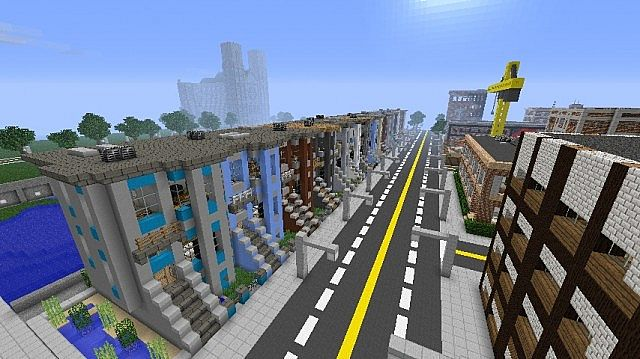 Brooklyn Brownstones Minecraft Project