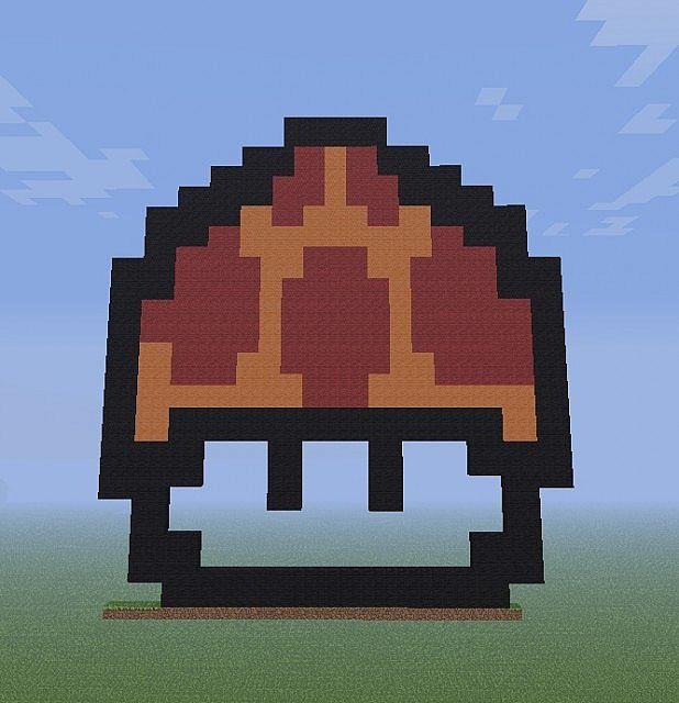 Mario Mushroom [PixelArt][NewDownloadLink][GoldCoinUpdate