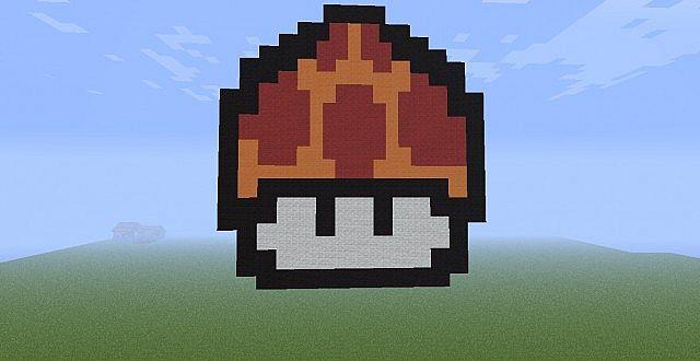 Mario Mushroom Pixelartnewdownloadlinkgoldcoinupdate