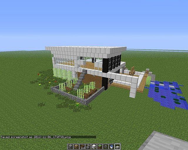 Modernes Haus modernes haus 2 minecraft project