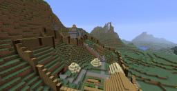 Motte and Bailey Minecraft Map & Project
