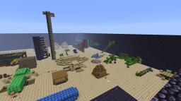 Redstone field. Minecraft